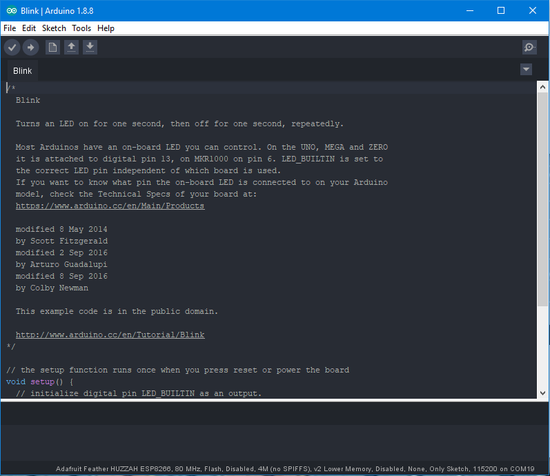 Adafruit arduino ide download