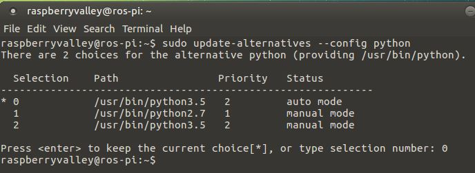 choosing python versions